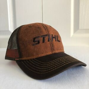 Image is loading Stihl-Dirty-Wash-Fabric-and-Mesh-Hat-Cap bd33fc75061e