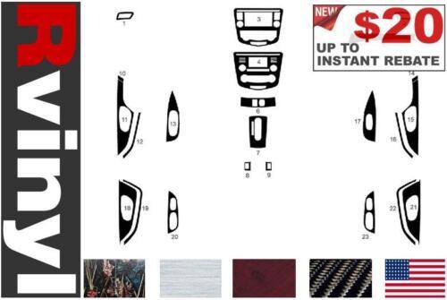 Rdash Dash Kit for Nissan Rogue 2014-2016 Auto Interior Decal Trim