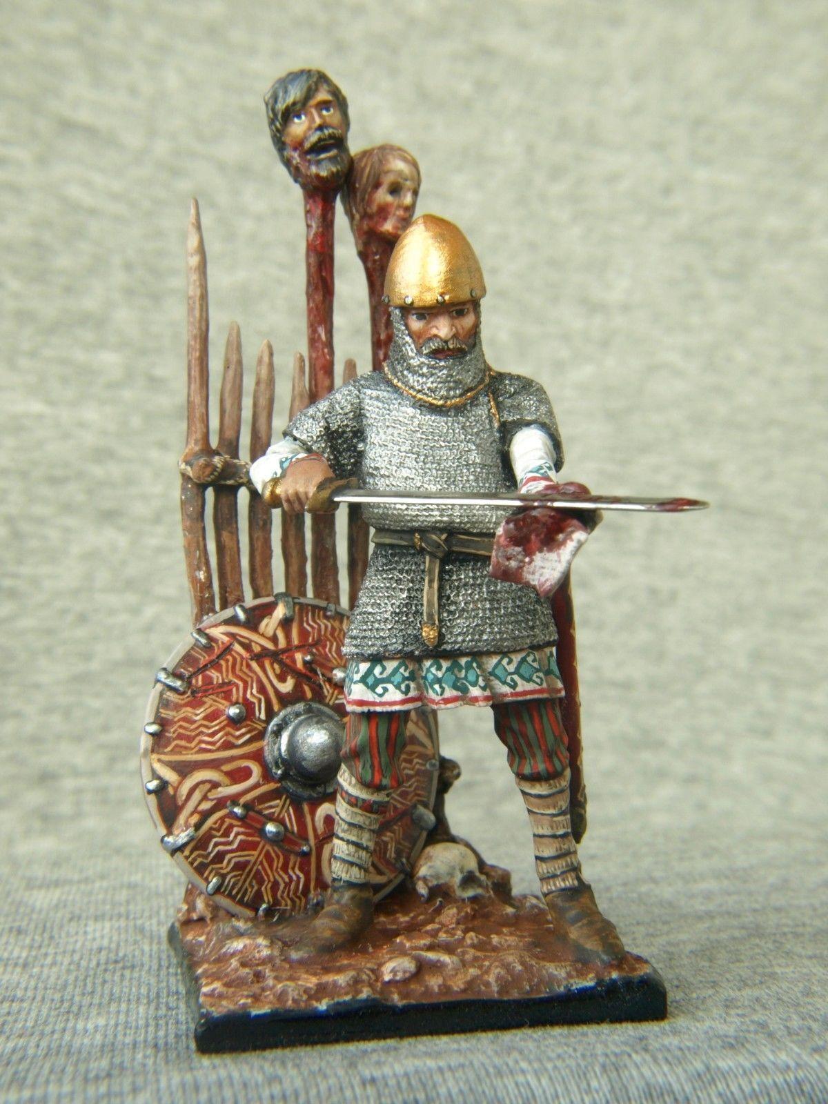 Exclusivo 54 mm. el Guerrero Toallitas su espada de la sangre. Shcherbakov-hqmodels