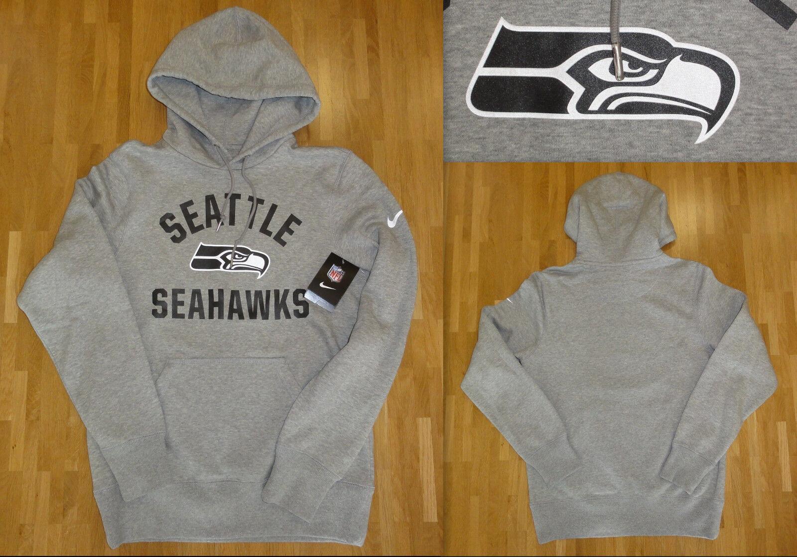 NEU NIKE Seattle Größe Seahawks NFL Hoodie Größe S Größe Seattle S new 4cb44e
