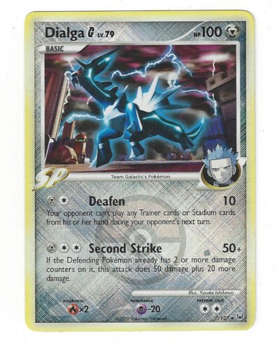 Pokémon League Promo DIALGA G 7//127