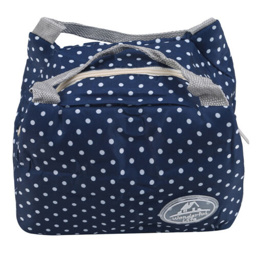With Handle Lunch Tote Portable Bento Pouch Storage Bag Insulated Lunch Bag CF