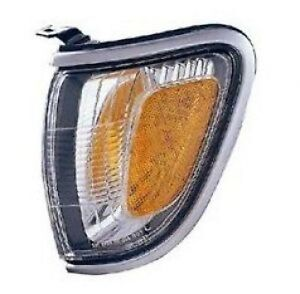Left Driver Side Corner Light Fits 01-04 Toyota Tacoma Silver Turn Signal LH 818107937361