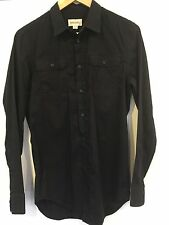Mens/Boys Diesel Long-sleeve Shirt Black Small