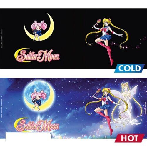 Thermoeffekt Tasse 460ml Sailor Moon /& Chibi Geschenkbox Sailer Moon