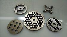 """Hobart / Enterprise Grinder Plates #12 #22 #32- 1/4"""" Hole"""