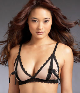 003c6e23e5 NEW Hanky Panky After Midnight Peek-A-Boo Bralette 257132 SIZE SMALL ...