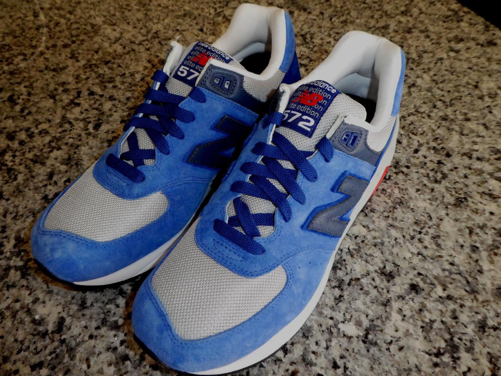 Uomo New Balance 575 Shoes Size 9.5 MRT572BG scarpe da ginnastica