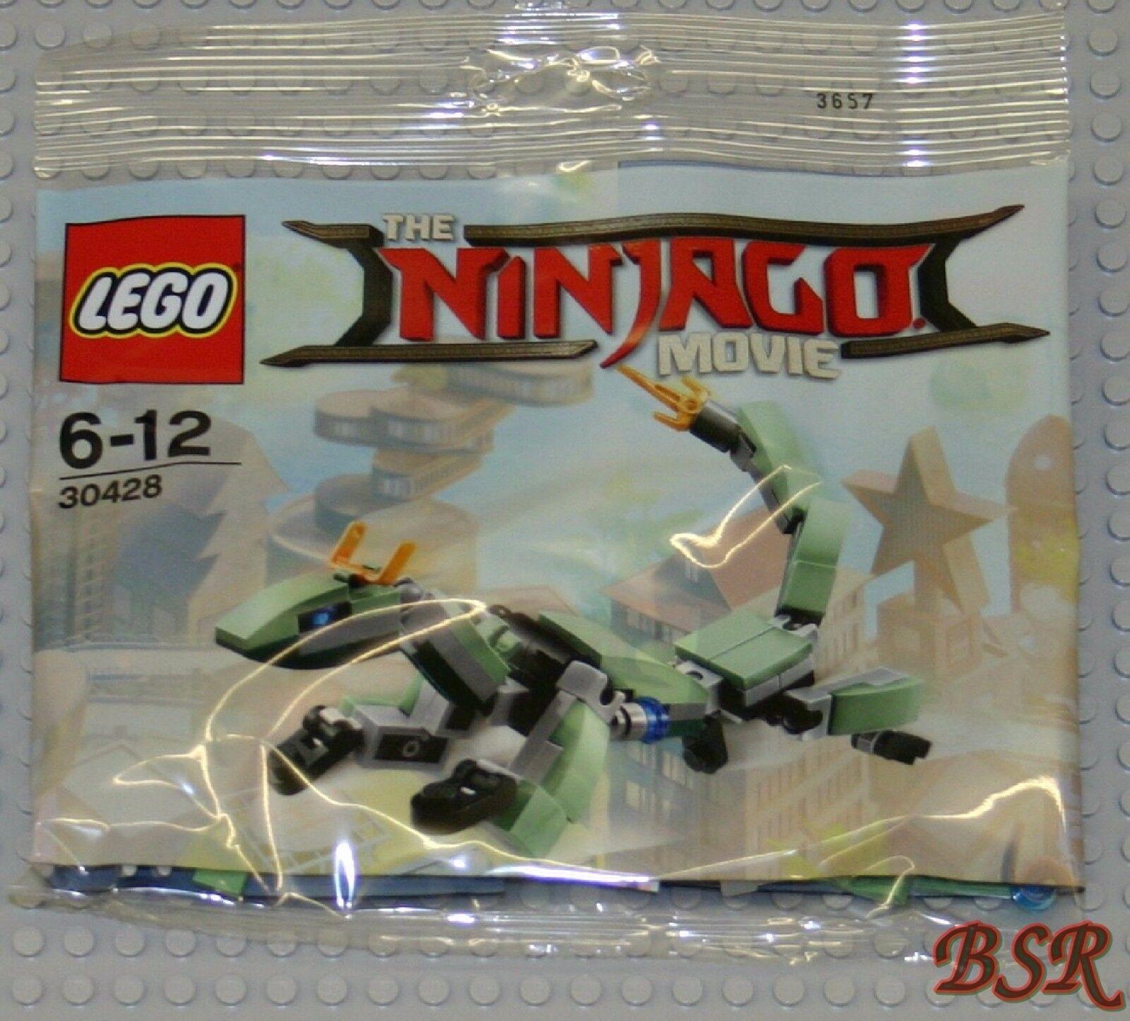 20x LEGO ® Ninjago Polysac   30428 Vert Ninja Mech Dragon Dragon  NOUVEAU & NEUF dans sa boîte  À ne pas manquer!