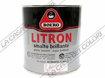 BOERO LITRON - TINTE RAL - 750 ml - SMALTO OLEOSINTETICO ...