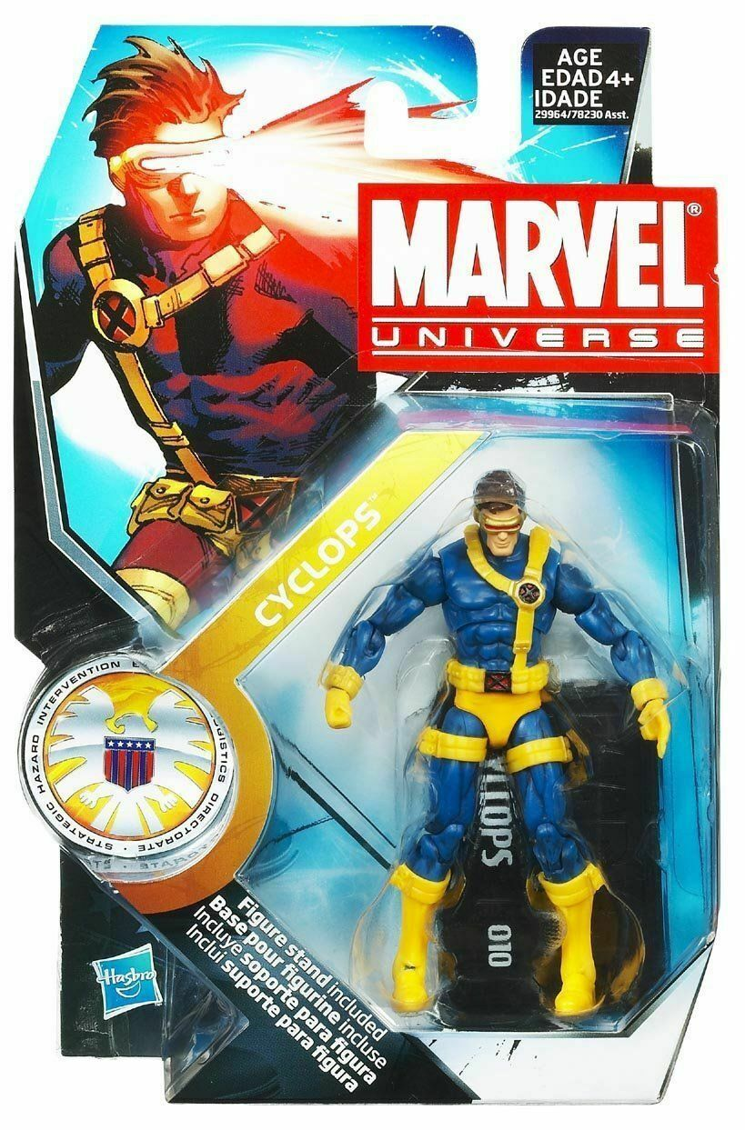 CYCLOPS ( 4  ) VHTF ( 2010 ) MARVEL UNIVERSE ( SERIES ) ACTION FIGURE