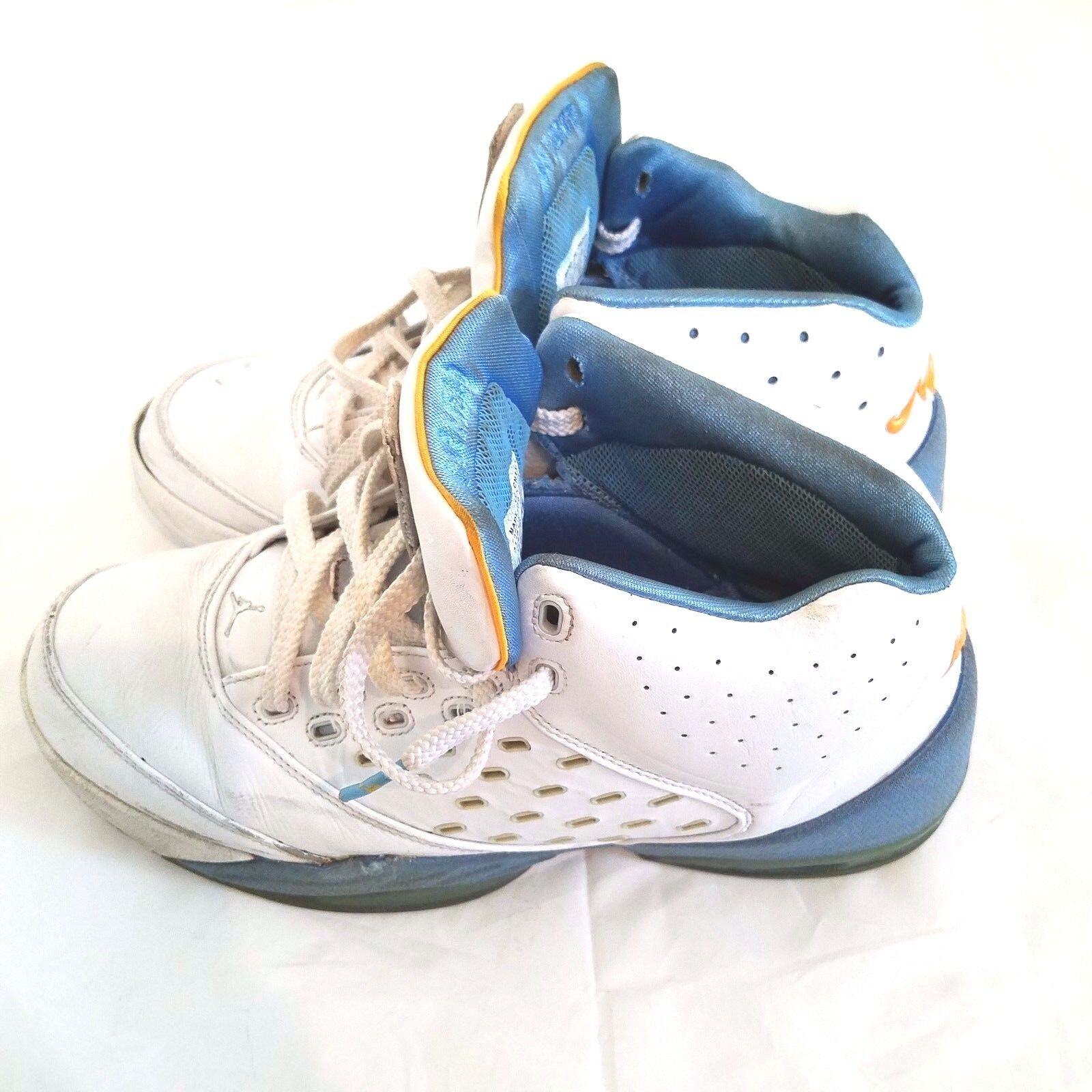 Nike Air Jordan Melo Carmelo blanco azul 311813-102 zapatos de baloncesto 2018 311813-102 azul 11 retro casual salvaje 69deee