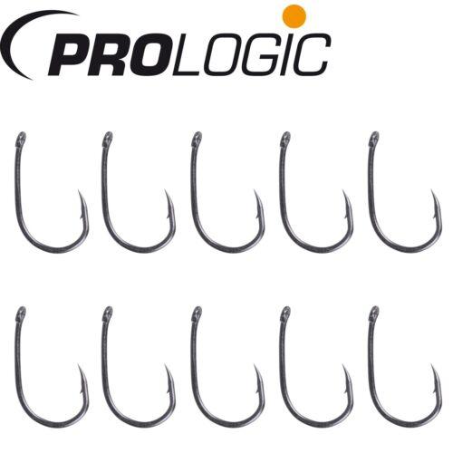 Angelhaken Einzelhaken für Karpfenmontagen Prologic Hoox XC1-10 Karpfenhaken
