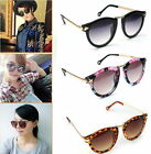 Women's Unisex Sunglasses Arrow Style Eyewear Round Sunglasses Metal Frame SU BN
