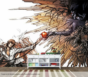 Death Note Anime Wall Mural Wall Art Quality Pastable Wallpaper Decal   eBay