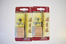 Milescraft Dowel Kit 1/4'' 5337 lot of 2