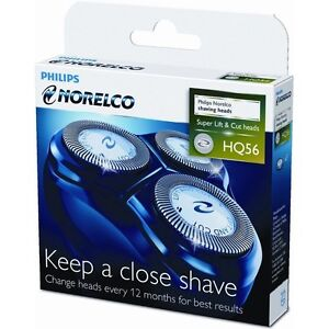 Norelco-HQ56-Reflex-HQ55-Plus-Replacement-Heads-Micro-Action-Razor-Shaver-Blade