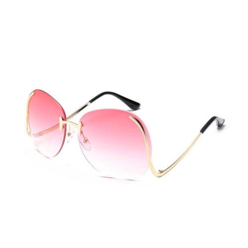 Women Oversized Transparent Optics Lens Sunglasses Designer Elegant Lady Party
