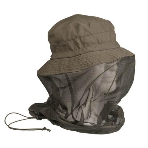Mil-Tec Jungle avec moustiquaire olive coyote Safari a tropical chapeau
