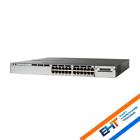 Cisco Ws-c3750x-24p-s Catalyst 24 Port Poe IP Base 3750x Networking Switch Q6