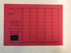 10-Cards-Lucky-Number-Raffle-Cards-A5-Fundraising-50-Spaces