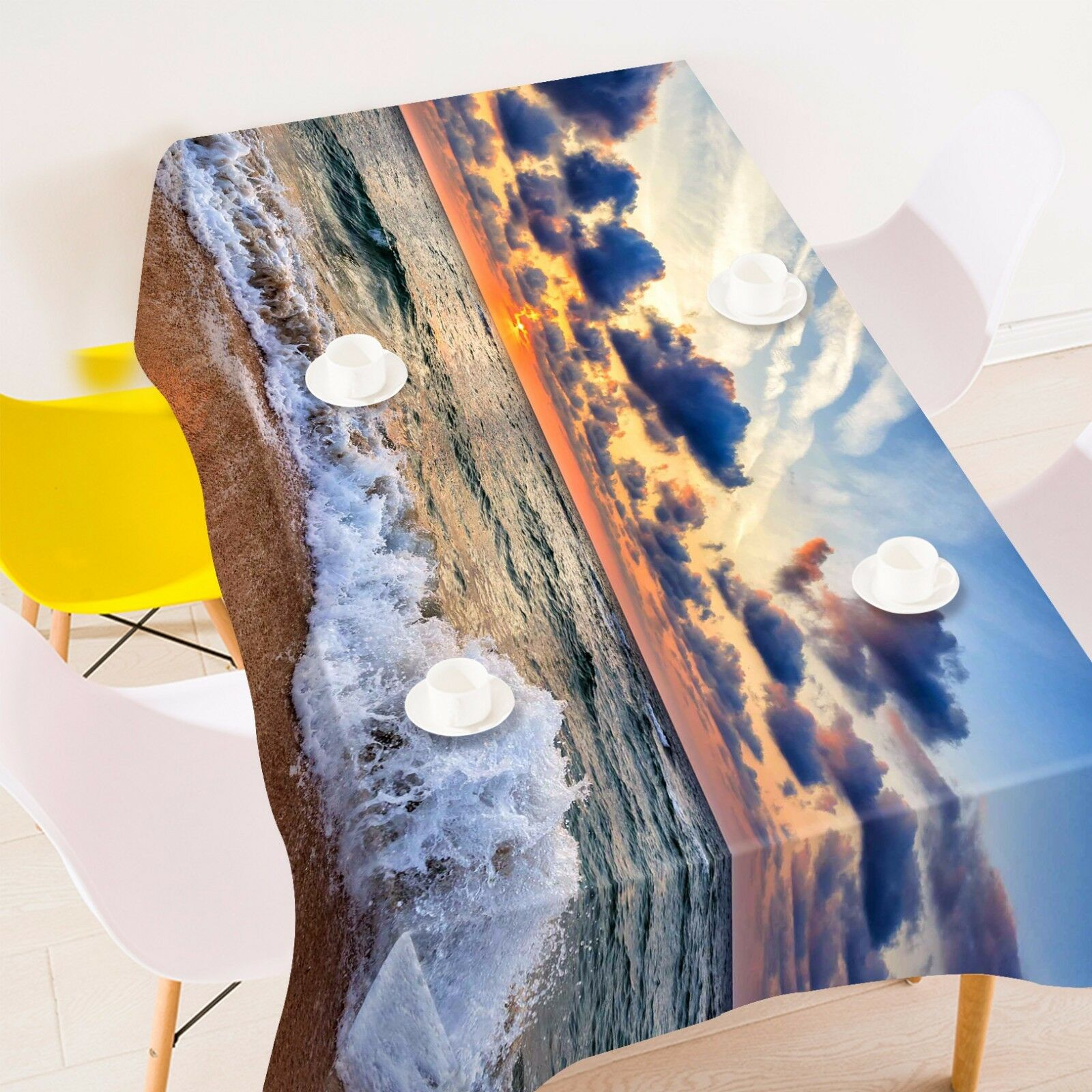 3D Clouds 873 Tablecloth Table Cover Cloth Birthday Party Event AJ WALLPAPER AU