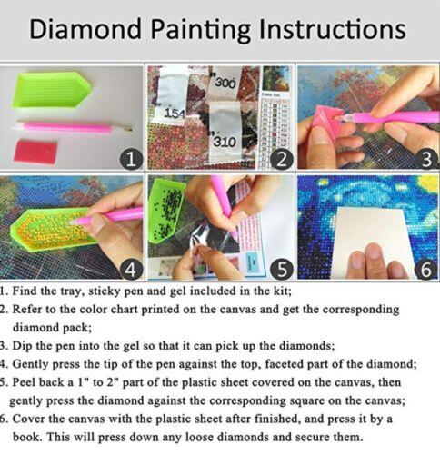 DIY 5D Diamond Full Drill Rhinestone Crystal Shoes Cross-Stitch Kit Home Mural