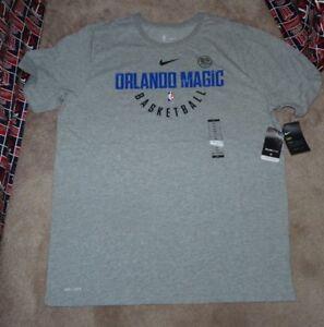 de036927e054 NEW NIKE NBA Orlando Magic Basketball T Shirt Men 2XL XXL Dri Fit ...