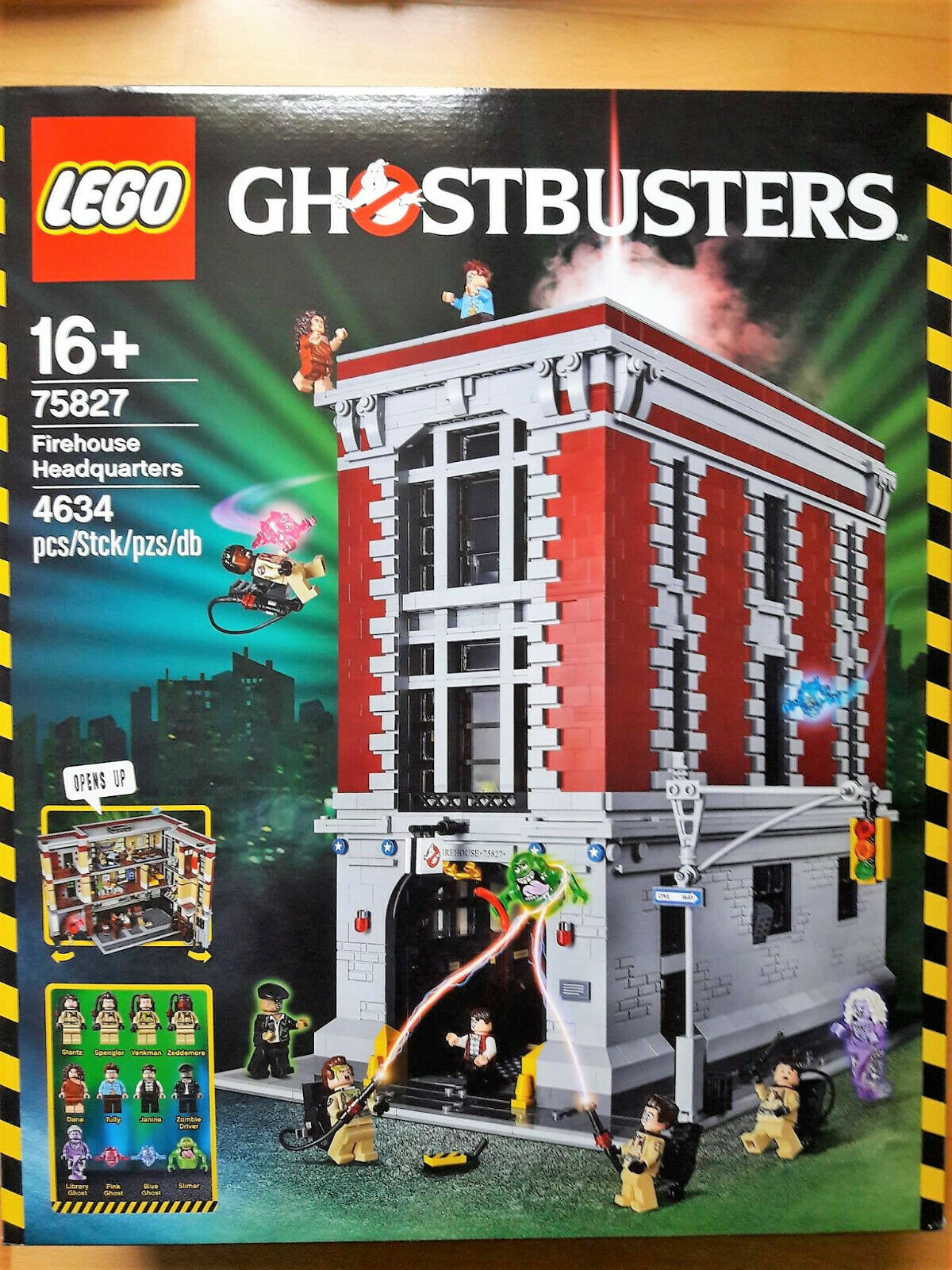 LEGO 75827 Ghostbusters HQ   Neu & OVP   New & Sealed