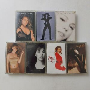 MARIAH-CAREY-ASSORTMENT-Cassettes-pick-from-Daydream-Music-Box-Emotions-amp-others