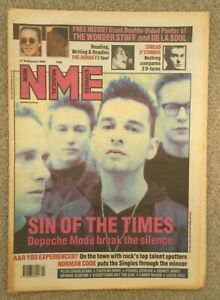 NME Magazine - 17 February 1990 - Depeche Mode,  Charlatans, Primal Scream