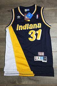a28abcd52904 Image is loading Reggie-Miller-31-Indiana-Pacers-Jersey-Throwback-Vintage-