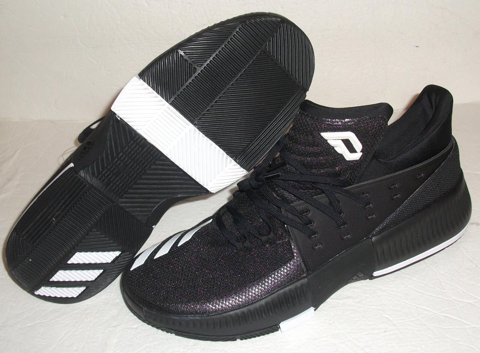 New Adidas Dame Lillard 3 PE, Mens Size 13, Black, StyCQ0277 Basketball