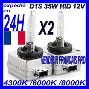 2 ampoules d1s hid 35w bi xenon kit 12v lampe feu phare. Black Bedroom Furniture Sets. Home Design Ideas