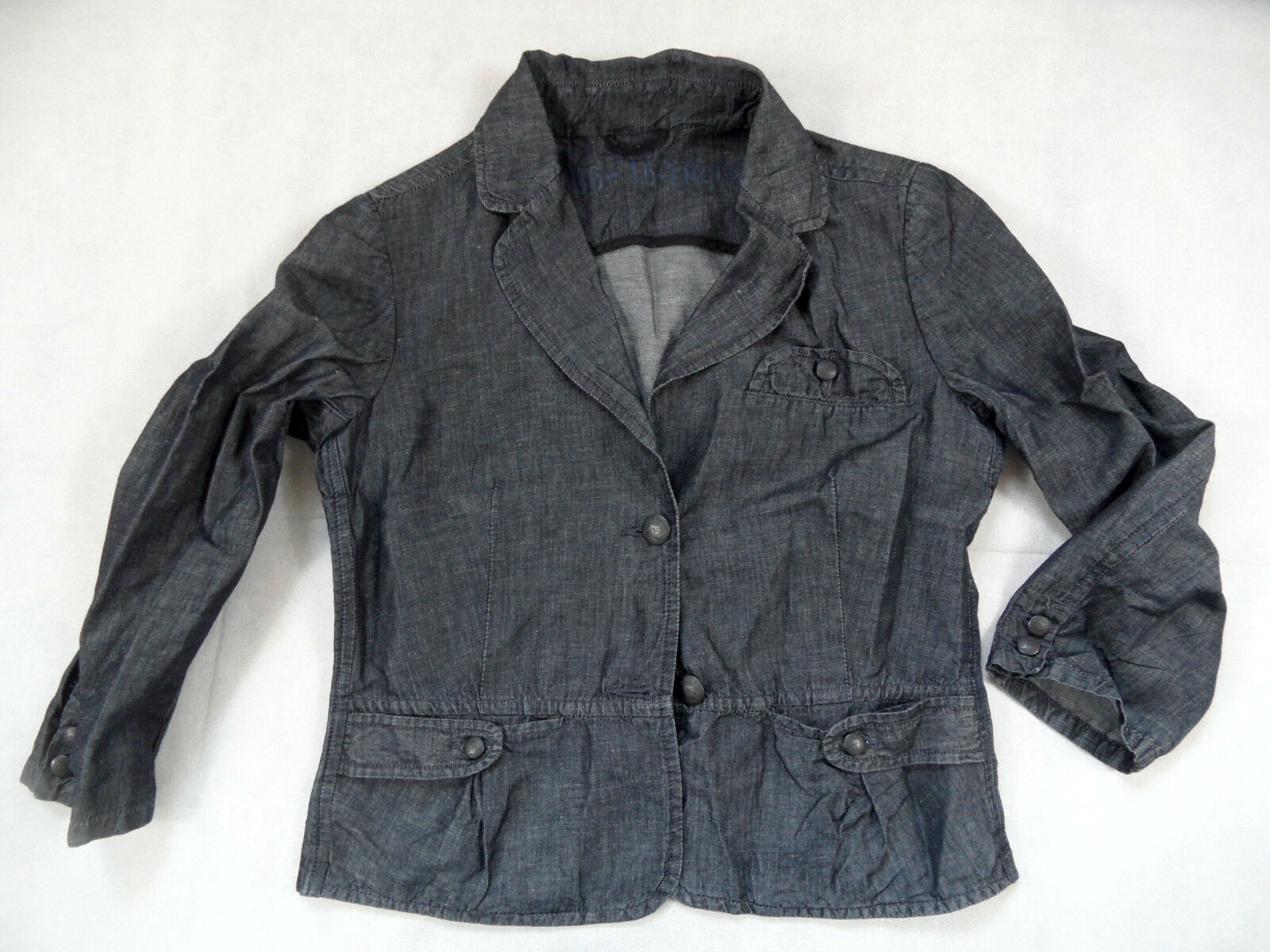 CLOSED leichter dark Blau Jeansblazer DELWYN Gr. S TOP BI718