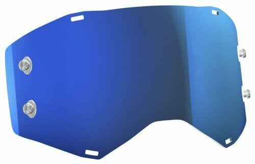 Electric Blu Cromo a Specchio Scott Works vetro singolo per Prospect