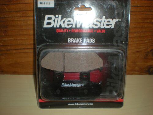 VTR250 BikeMaster Front Brake Pads Honda GL1500 NX650 VT600 Shadow H1046