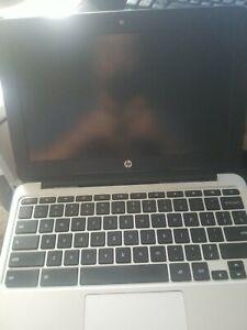 HP Chromebook 11 G4 11.6 Inch ( 16GB eMMC, Intel Celeron, 2.16GHz, 4GB ) Notebo…