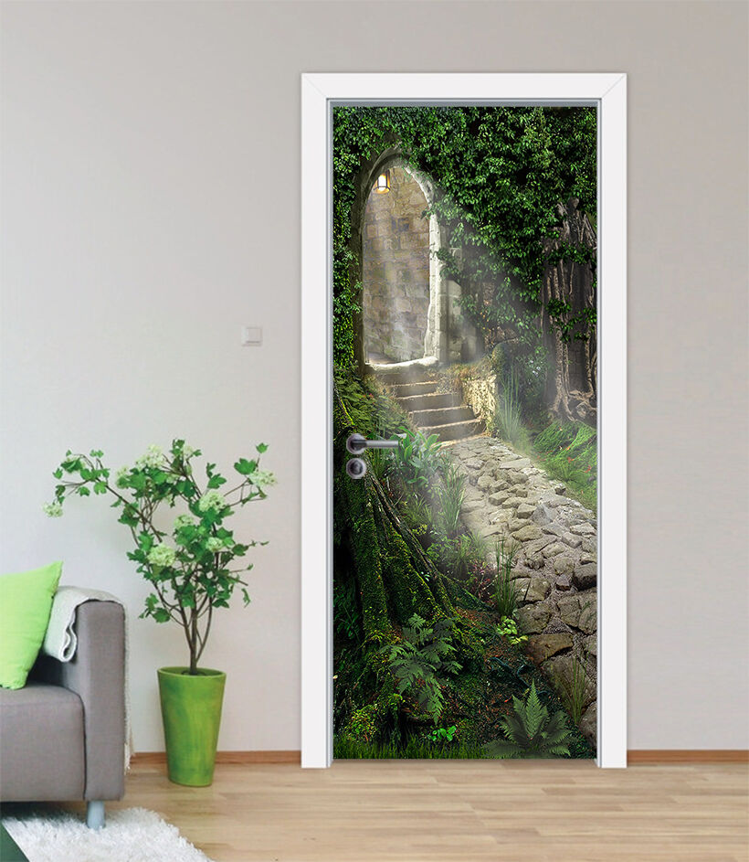 3D Die Stufen 88 Tür Wandmalerei Wandaufkleber Aufkleber AJ WALLPAPER DE Kyra | Zarte  | Erschwinglich  | Online-Shop