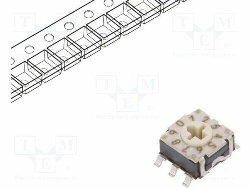 10 1250stk rte1000g14 kodierschal Kodierschalter Hex//BCD SMT Boutons positions
