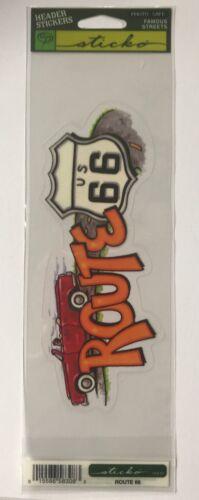 Sticko Route 66 Header Sticker
