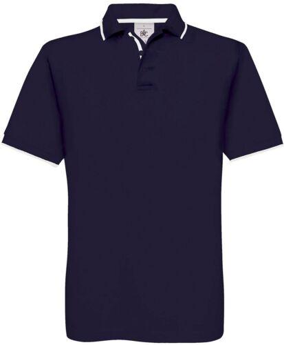 01.0413 B/&C Herren Piqué-Poloshirt Kurzarm S M L XL 2XL 3 Farben
