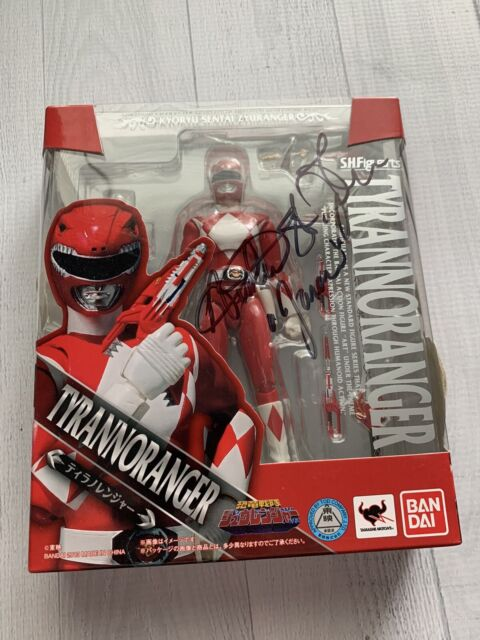 *SIGNED* Bandai SH Figuarts Mighty Mophin Power Rangers Red  Japanese Version