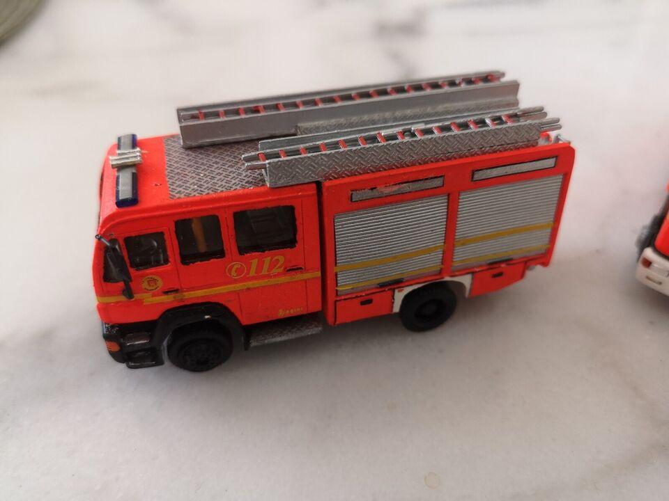 Modelbane, Merlau Brandvæsen, skala 1/87