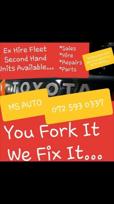 Forklift Repairs.Parts and Internal Engine Spares etc