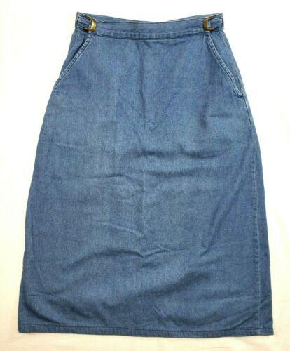 Willow Ridge Jean Skirt Women Adjustable Waist A L