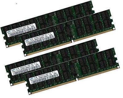 4x 4gb 16gb Ecc Ram Memoria Hp Proliant Ml150 G5 667 Mhz Registered-