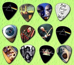PINK-FLOYD-Guitar-Picks-Limited-Edition-Set-of-12