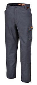c0bb78176 Details about Beta Tools 7930GREY Size XS-XXXL Work Trousers Cotton Grey  Workwear