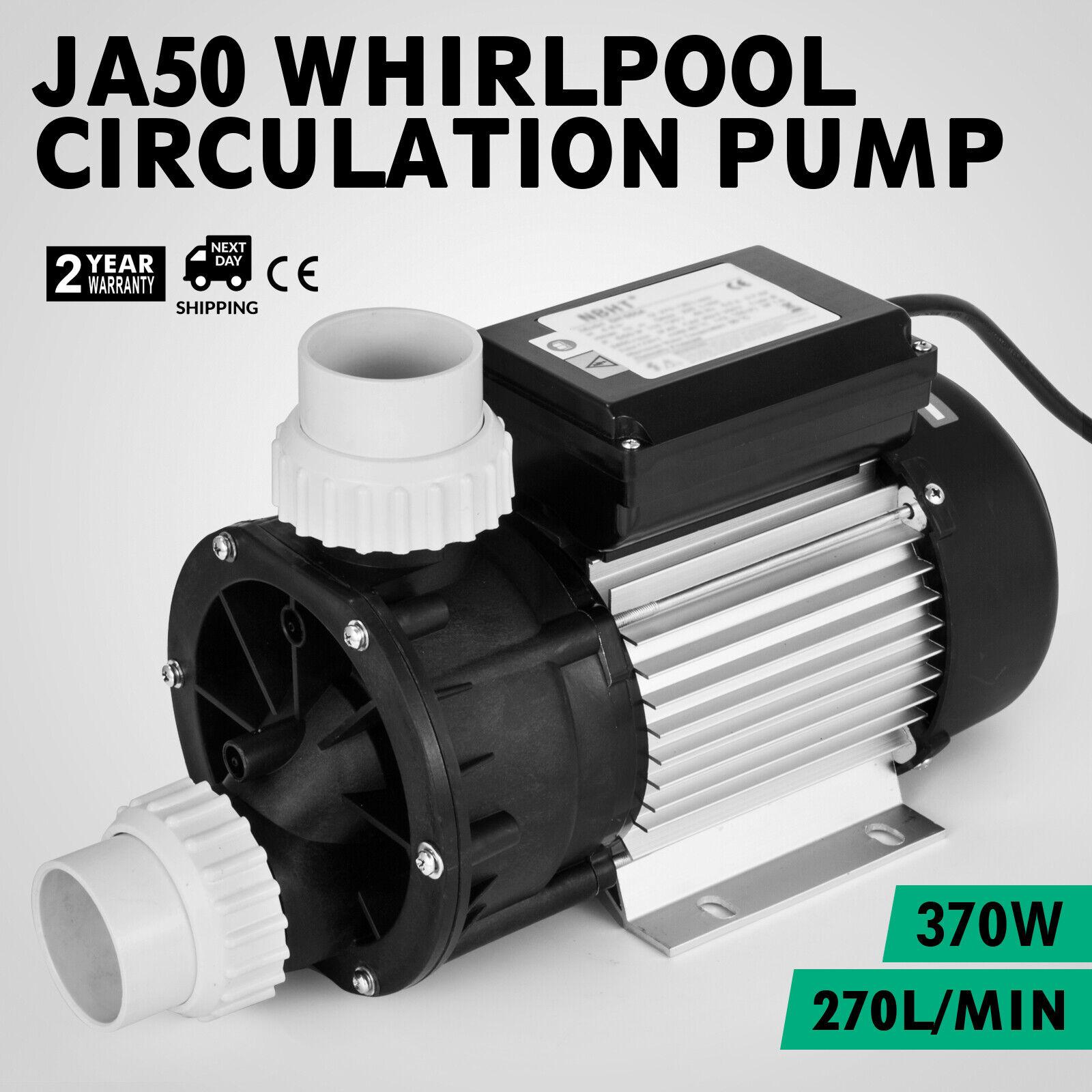 JA50 LX Pompa di Circolazione Whirlpool 270L min Vasca da bagno 2860r min 0.5HP